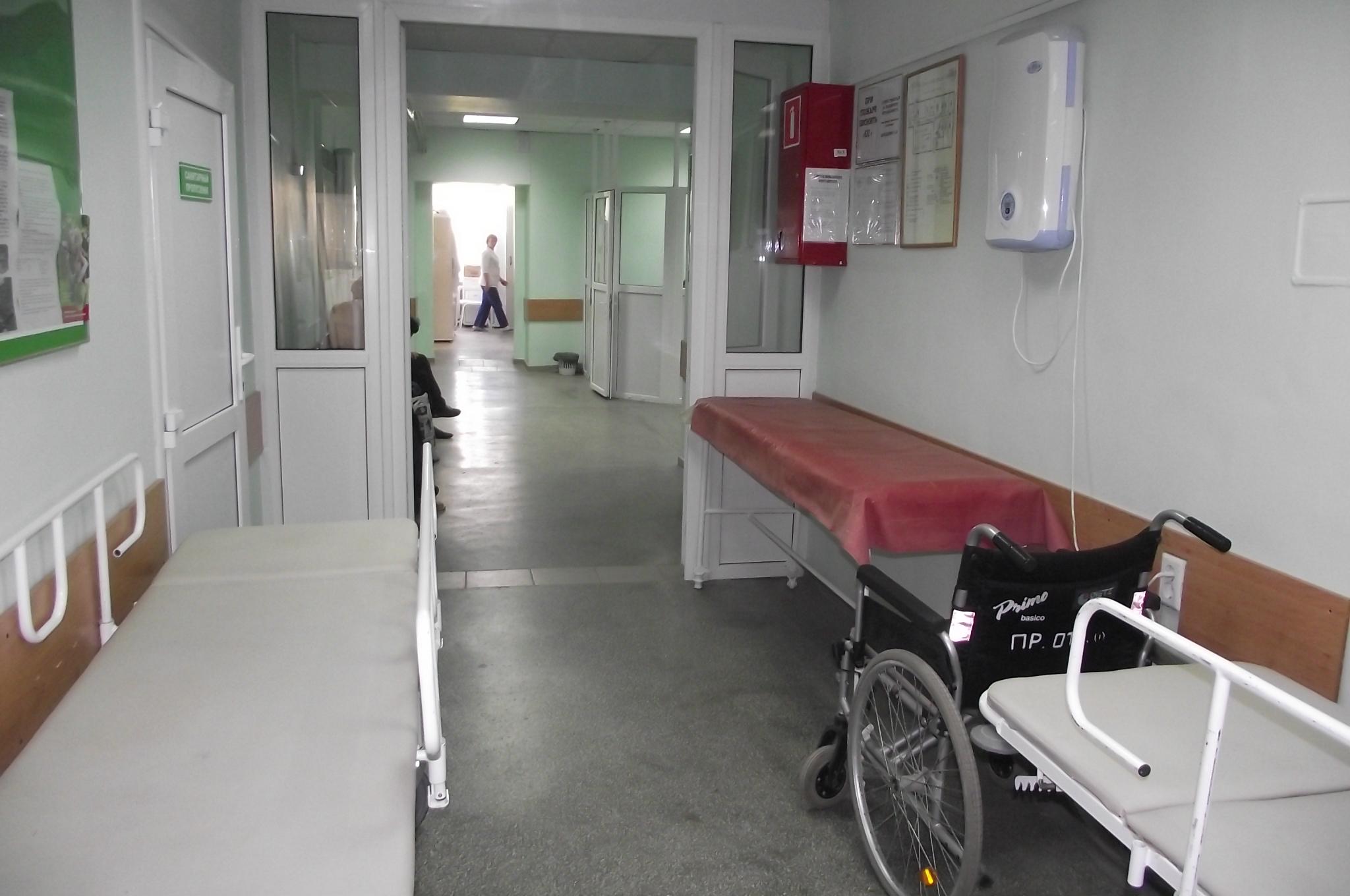 Регистратура взрослой поликлиники заречный